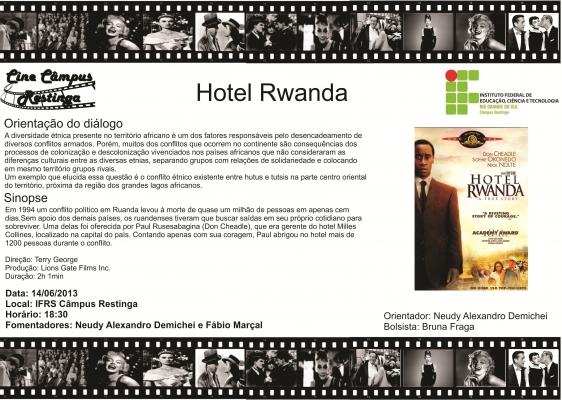 hotel rwanda thesis